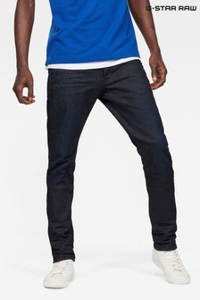 G-Star Dark Aged 3301 Tapered Jeans