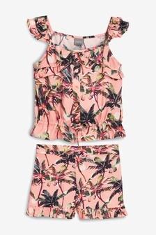 Age 3-4 Years Girls Next Floral Jumper Skirt Dress Dresses