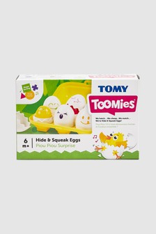 TOMY Toomies Hide And Squeak Eggs
