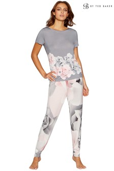 B by Ted Baker Grey Print Jogger