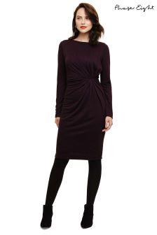 Phase Eight Purple Trishna Twist Dress