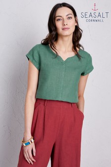 Seasalt Green Okanum T-Shirt