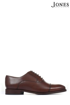 Jones Bootmaker Brown Matthew Wide Fit Oxford Shoes