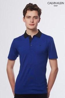 Calvin Klein Golf Blue Interval Polo