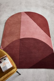 Rosewood Arch Rug