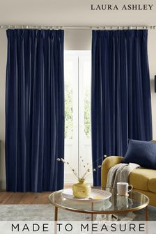 Laura Ashley Swanson Midnight Made to Measure Curtains