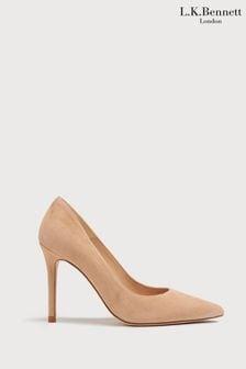 L.K.Bennett Cream Fern Court Shoe