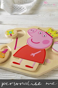 Personalised Peppa Pig™ Puzzle Tray by Signature PG