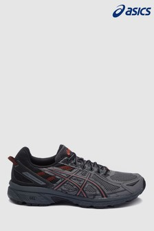 Asics Black/Grey Venture 6 Trainer