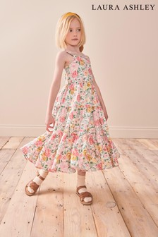 Laura Ashley Floral Tiered Maxi Dress