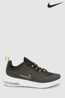Nike Black/Gold Air Max Axis Youth Trainers