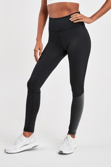 adidas Black High Rise 7/8 Tight Leggings