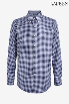 Ralph Lauren Navy Check Shirt
