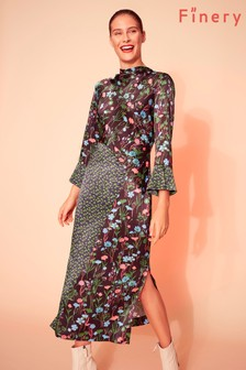 Finery London Multi Mia Print Column Dress