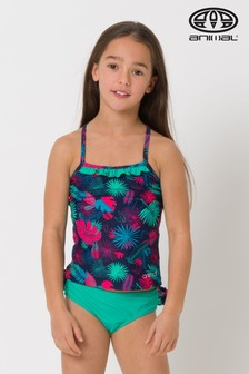 Animal Blue Ocean Palm Tankini
