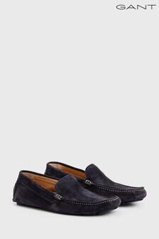 GANT Navy Austin Moccasin Shoe