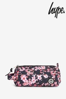 Hype. Dark Floral Pencil Case