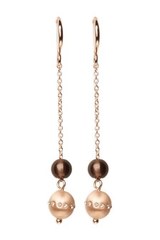 Sparkle Effect Sphere Earrings