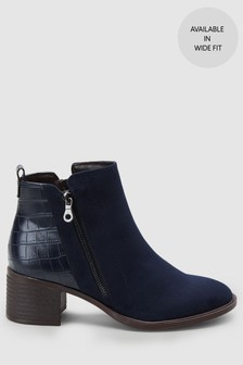 Ankle Zip Boots