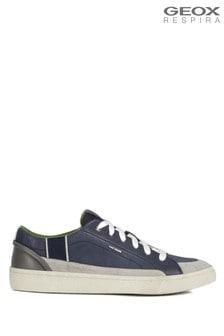Modré pánske topánky Geox Warley