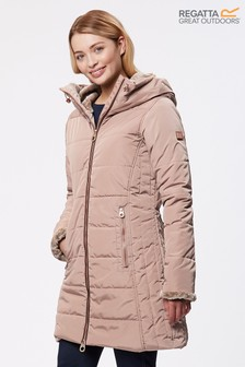 Regatta Pernella Waterproof Brown Jacket