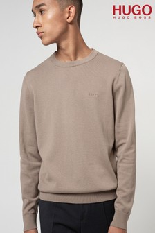 HUGO San Cassius Crew Neck Jumper