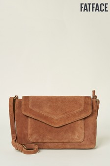 FatFace Brown Erin Envelope Cross Body Bag