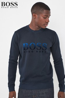 BOSS Weaver Logo Sweatshirt