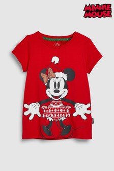 Minnie Mouse™ Christmas T-Shirt (3mths-16yrs)