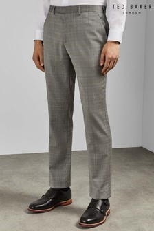 64c9f694677f Ted Baker Grey Sterling Trousers