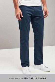 Spodnie ze streczem, z pięcioma kieszeniami