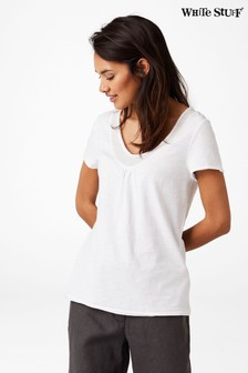 White Stuff White Salcombe T-Shirt