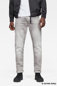G-Star Light Aged 3301 Tapered Jeans