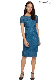 Phase Eight Peacock Indra Tapework Dress