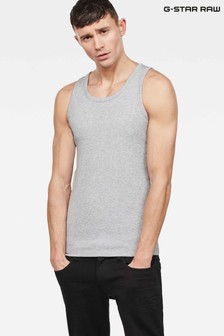 G-Star White Base Tank T-Shirt Two Pack