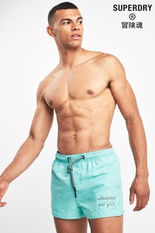 Superdry Light Blue Swim Short