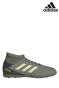 adidas Khaki Predator Turf Junior & Youth Football Boots