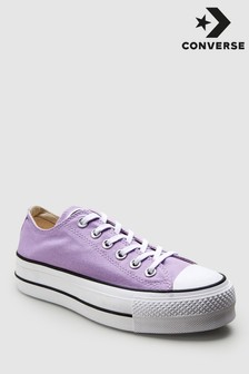 Convese Lilac Chuck Taylor All Star Lift Trainer