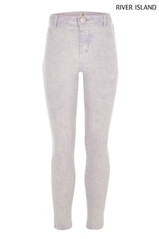 River Island Lilac Washed Molly Jean