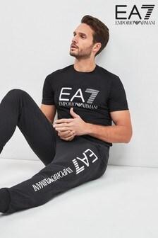 EA7 Black Logo Jogger