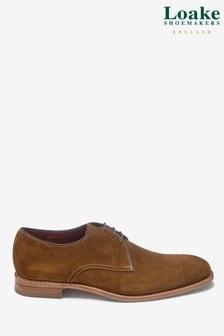 Loake Tan Suede Drake Shoe