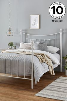 Isabella White Bed