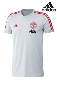 adidas Grey Manchester United Jersey