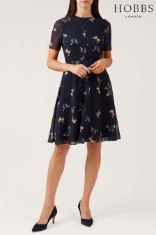 Hobbs Blue Cecily Dress