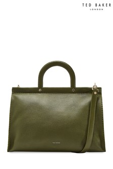 Ted Baker Khaki Large Tote Bag