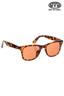 Animal Brown Repel Matte Frame Sunglasses