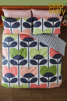 Orla Kiely Climbing Rose Cotton Duvet Cover