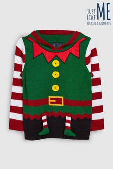 Older Kids Christmas Elf Jumper (3-16yrs)