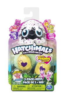 Hatchimals CollEGGtibles 2-Pack + Nest
