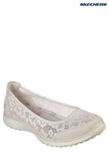 Skechers® Natural Microburst Lace Shoe